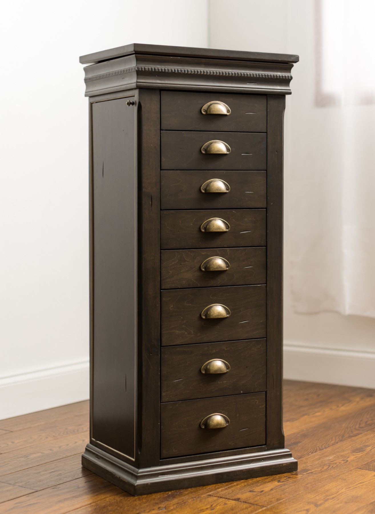 Madison Jewelry Armoire ~ Grey – Hives and Honey