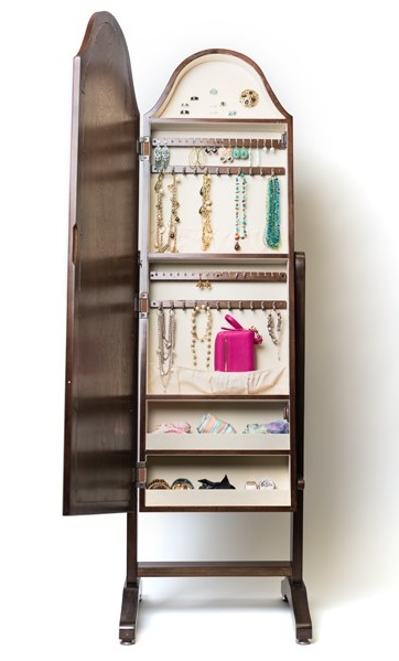 JEWERLY ARMOIRE JEWELRY CHEST jEWELRY MIRROR
