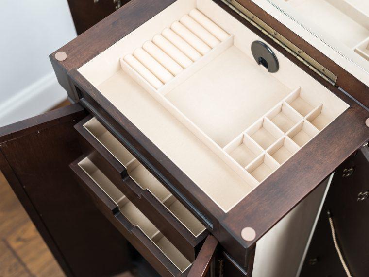 Espresso Jewerlry armoire