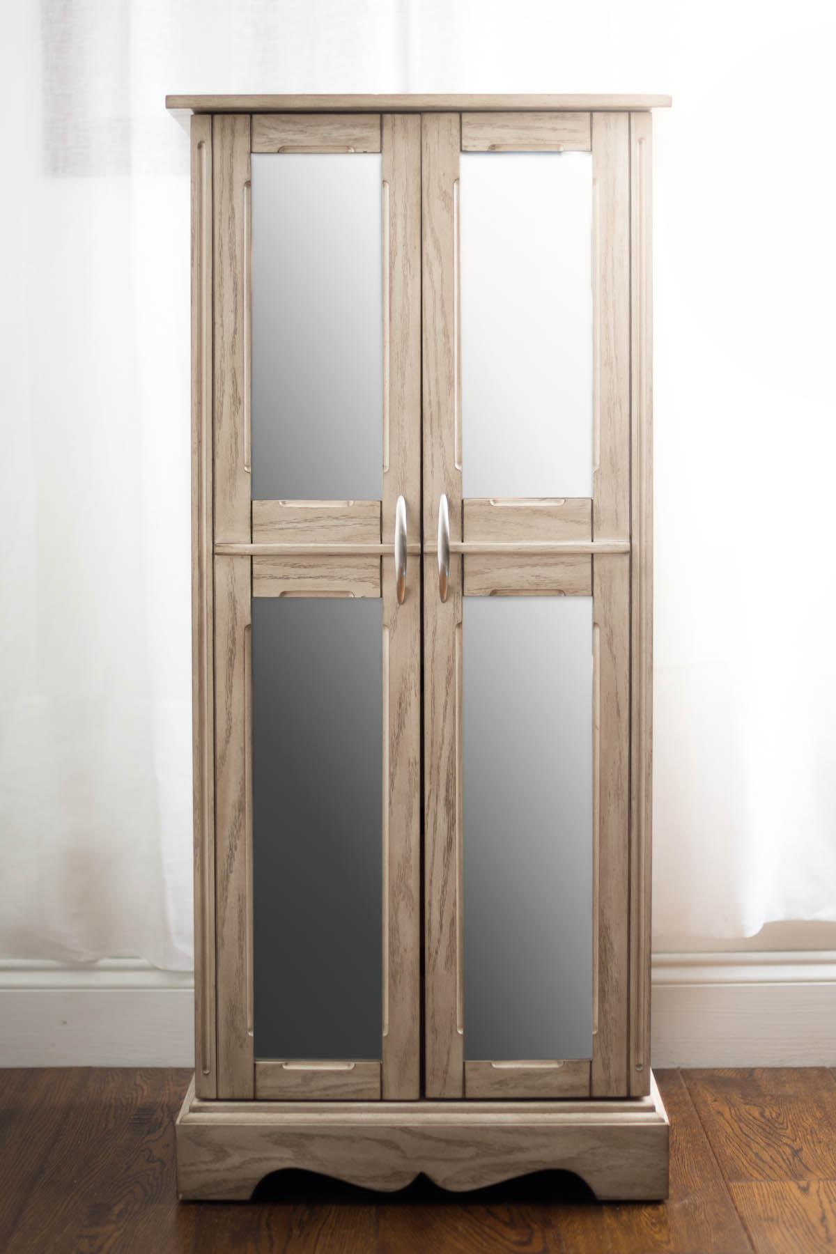 Grey Mist Jewelry armoire