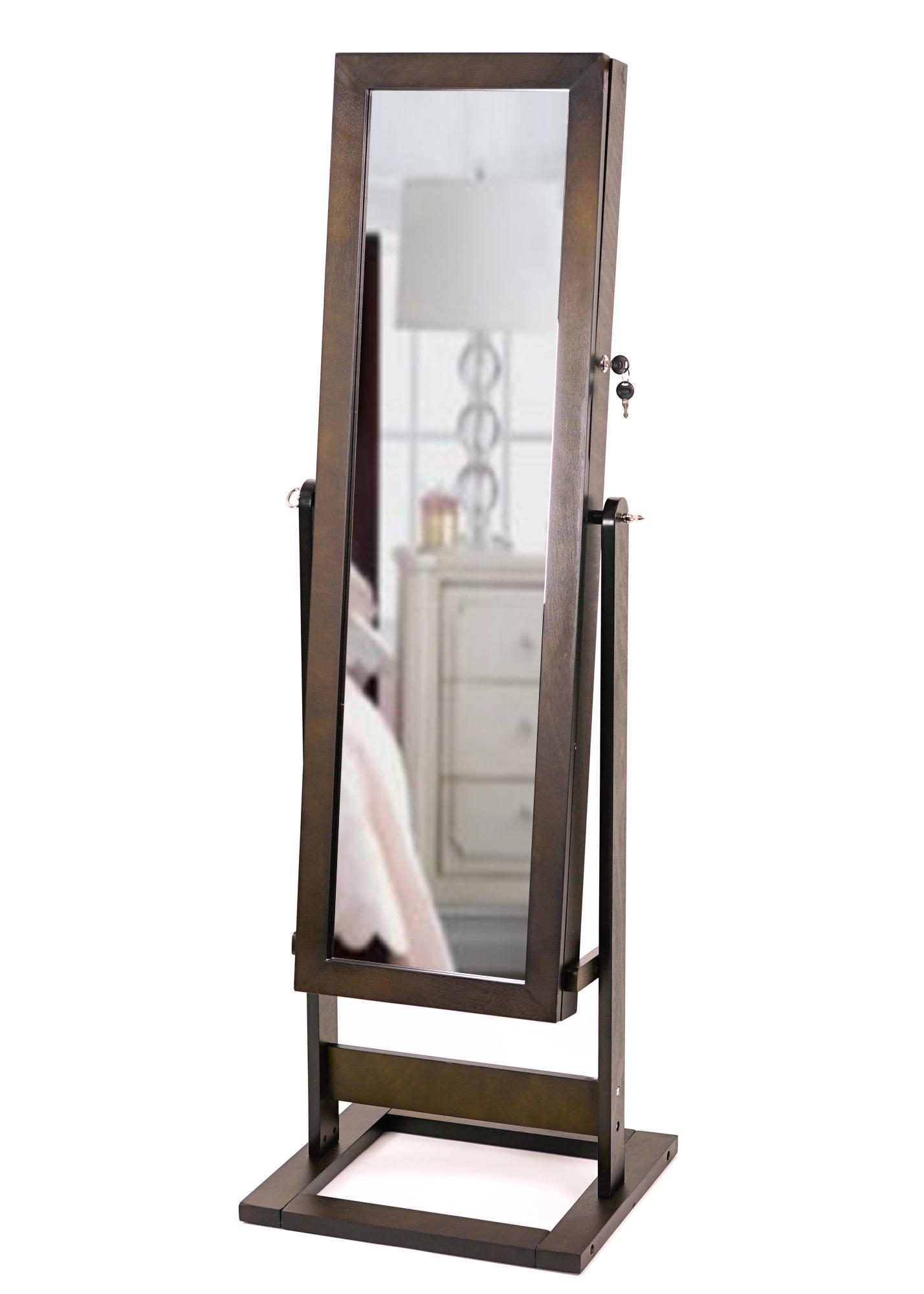 Cheval Trinity Jewelry Storage Mirror Espresso Hives
