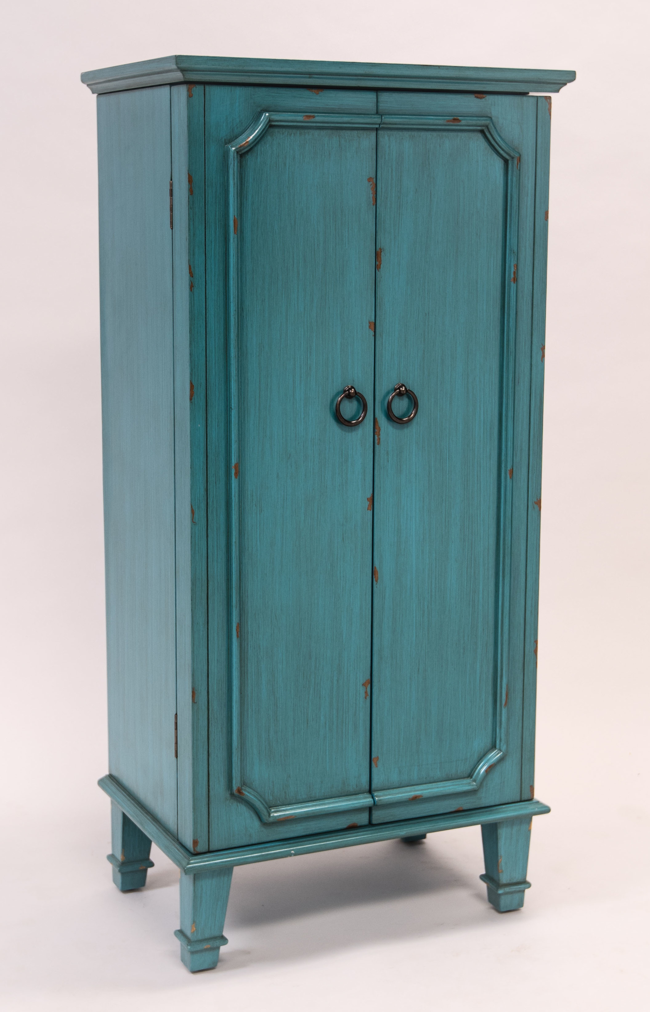 Cabby Jewelry armoire turquoise