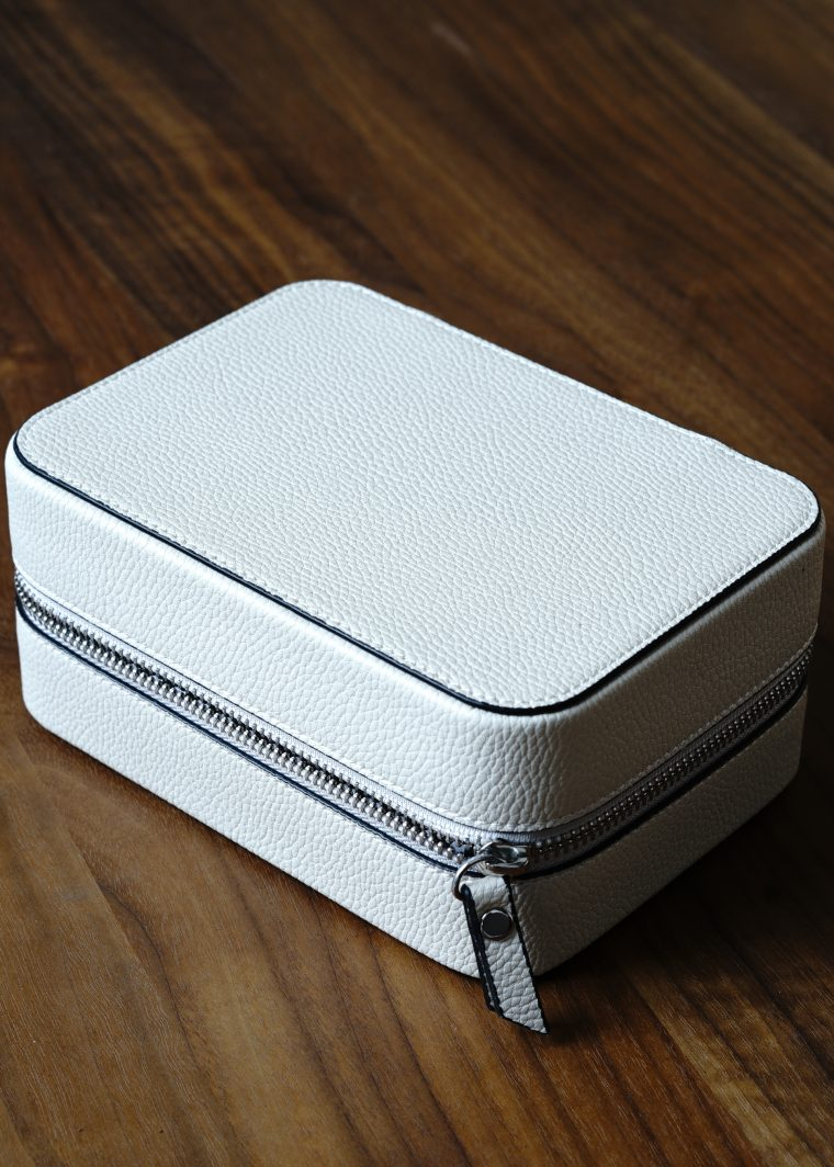 Rose Travel Case - Cream